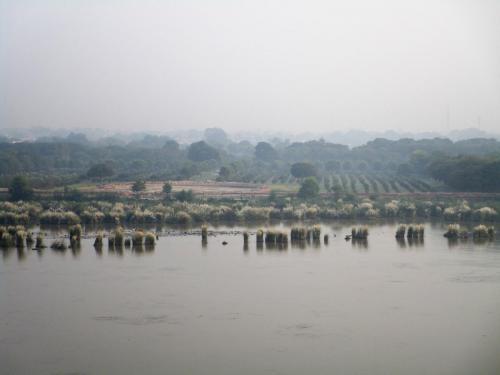 Taj Mahal - the Yamuna River