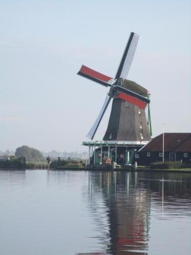 Windmill in Zaanse Schans.