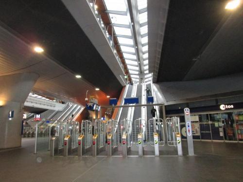 Beautiful train stations