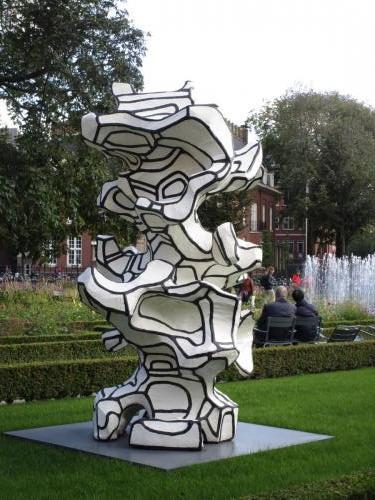 Sculpture in Museumplein Park