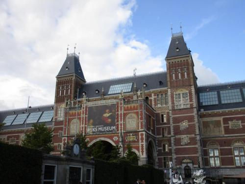 Back of Rijksmuseum