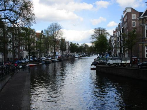 A canal. There are lots of these