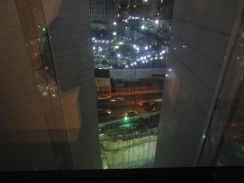 View from the hotel room (Amari Doha - free thanks to a special Qatar Airways was running)