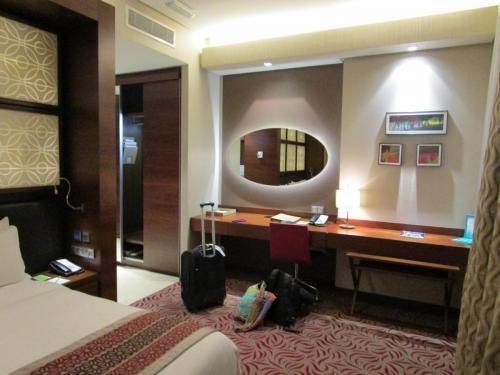 Beautiful (free) hotel room