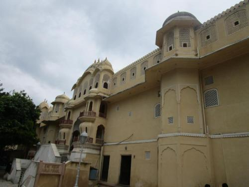 Hawa Majal from the back entrance
