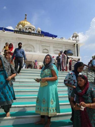 Chiraz at Sikh Temple
