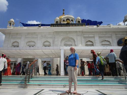 Me at Sikh Temple