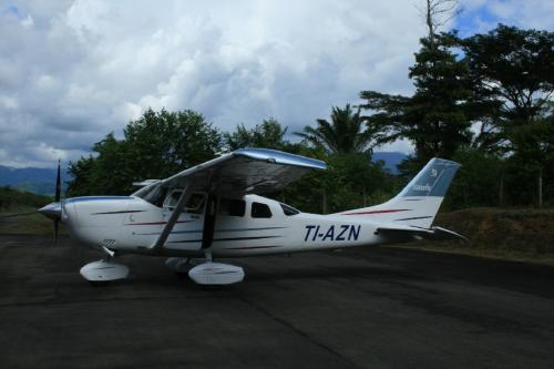 Our plane. Yup