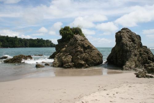 Beach by Manuel Antonio
